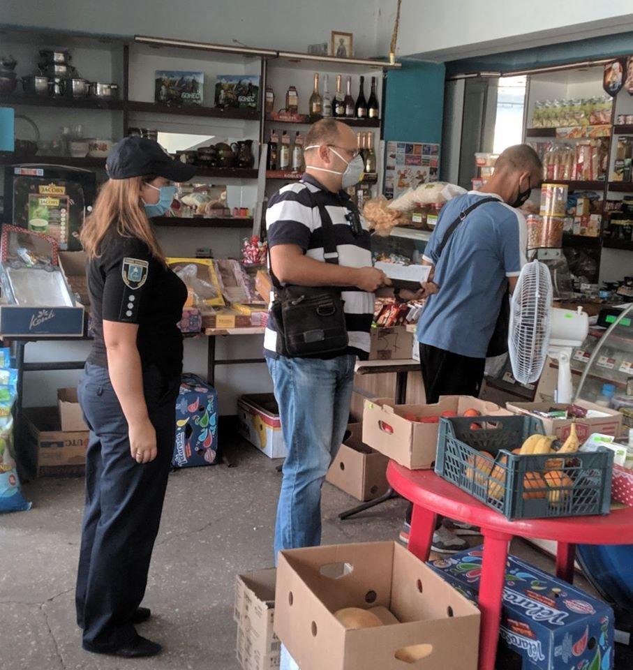 На Конотопщині перевіряли, чи носять маски в магазинах, фото-5