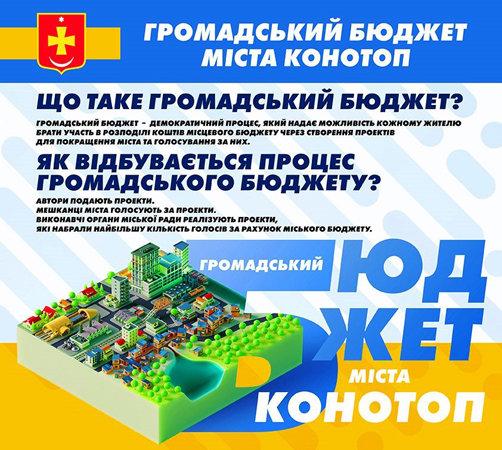 З серпня почнуть реалізуватися проекти-переможці ініціативи «Громадський бюджет м.Конотоп», фото-1