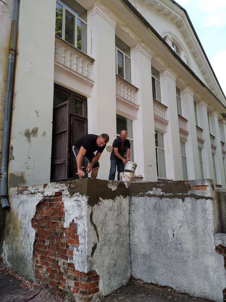 """У Конотопі ремонтують ганок буднику культури """"Зоряний""""+ФОТО, фото-1"""