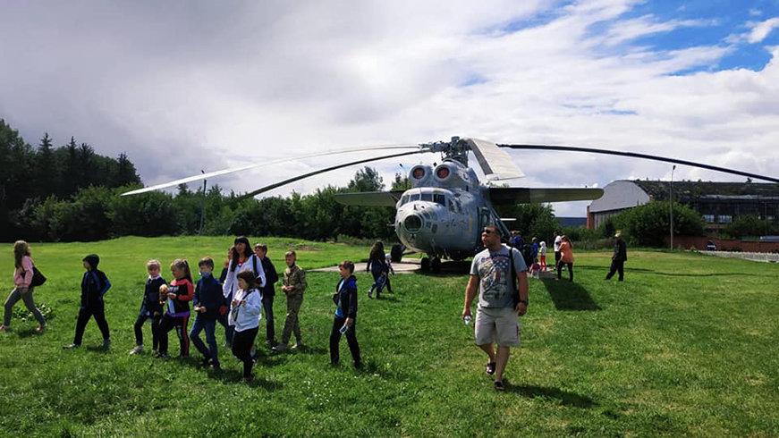 Конотопцям влаштували екскурсію до музею авіації та в бункер Люфтваффе, фото-1