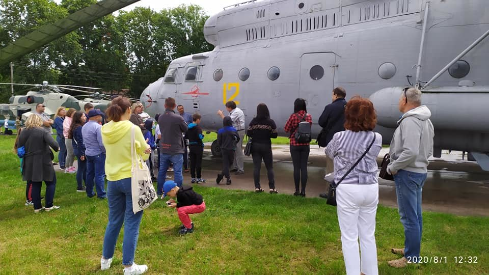Конотопцям влаштували екскурсію до музею авіації та в бункер Люфтваффе, фото-3