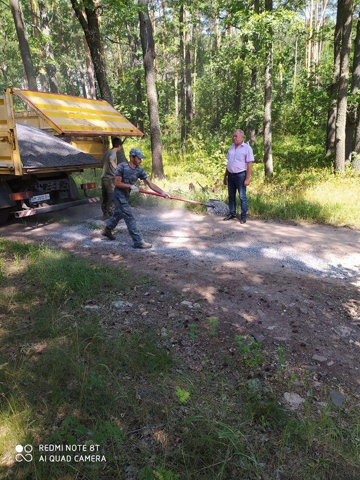На Конотопщині ремонтують лісові дороги+ФОТО, фото-2