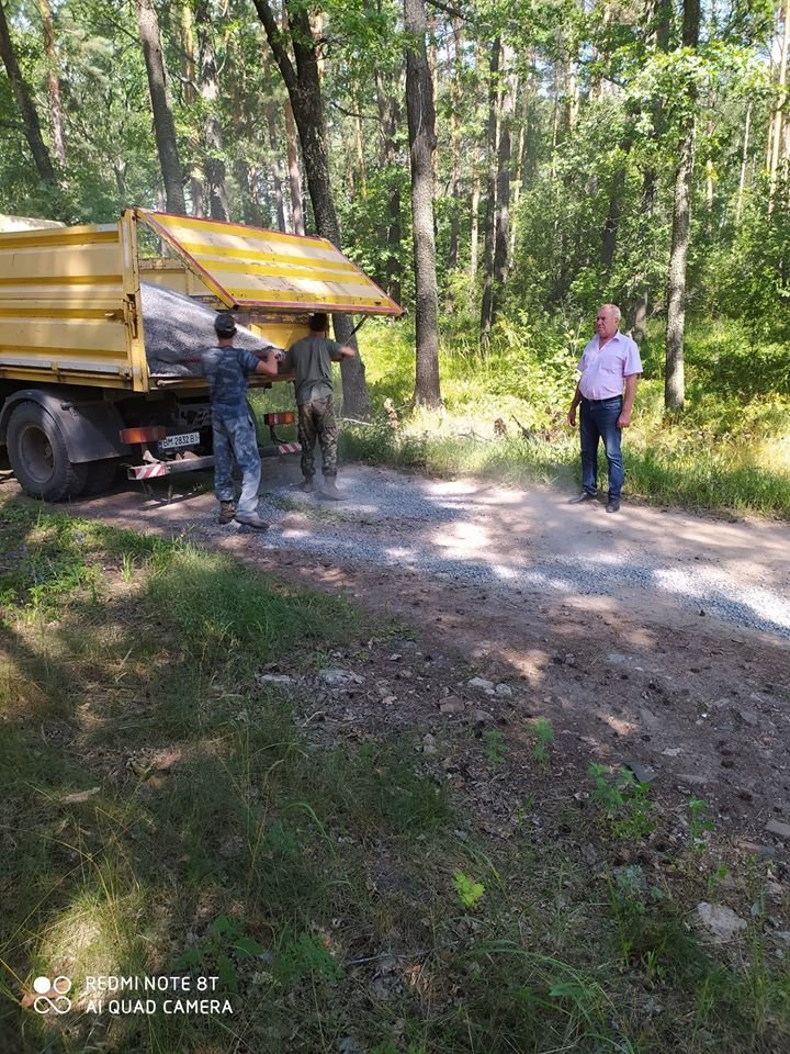 На Конотопщині ремонтують лісові дороги+ФОТО, фото-4