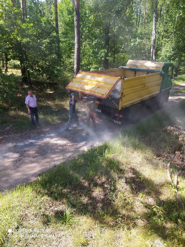 На Конотопщині ремонтують лісові дороги+ФОТО, фото-5