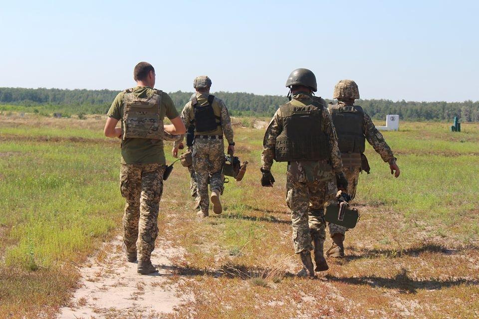"""Конотопських кулеметників визнали найкращими в ОК """"Північ"""", фото-1"""