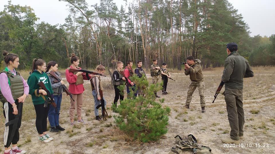 На Конотопщині пройшов військово-патріотичний вишкіл для молоді, фото-2