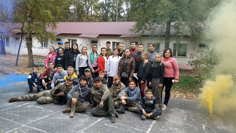 На Конотопщині пройшов військово-патріотичний вишкіл для молоді, фото-4
