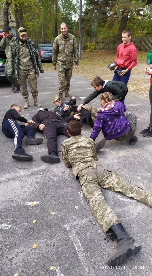 На Конотопщині пройшов військово-патріотичний вишкіл для молоді, фото-6