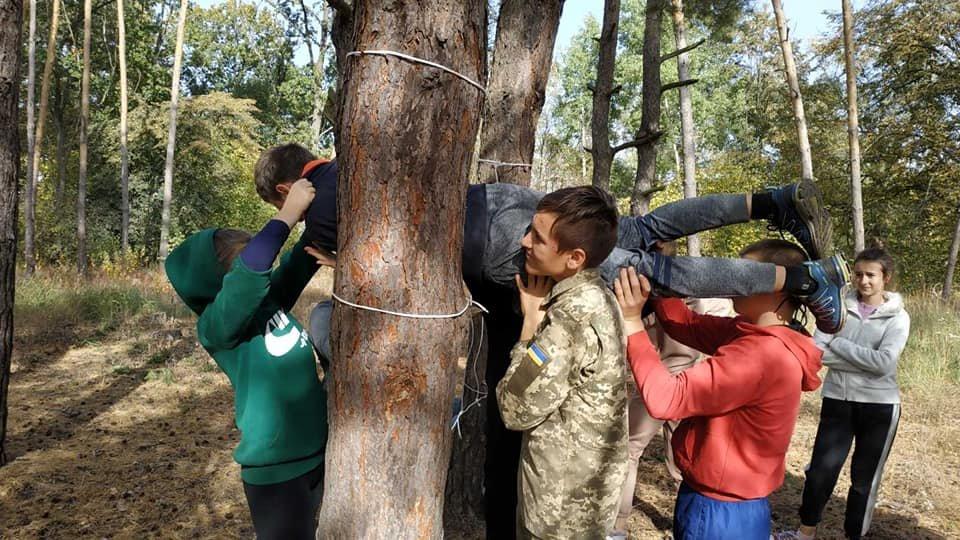 На Конотопщині пройшов військово-патріотичний вишкіл для молоді, фото-7