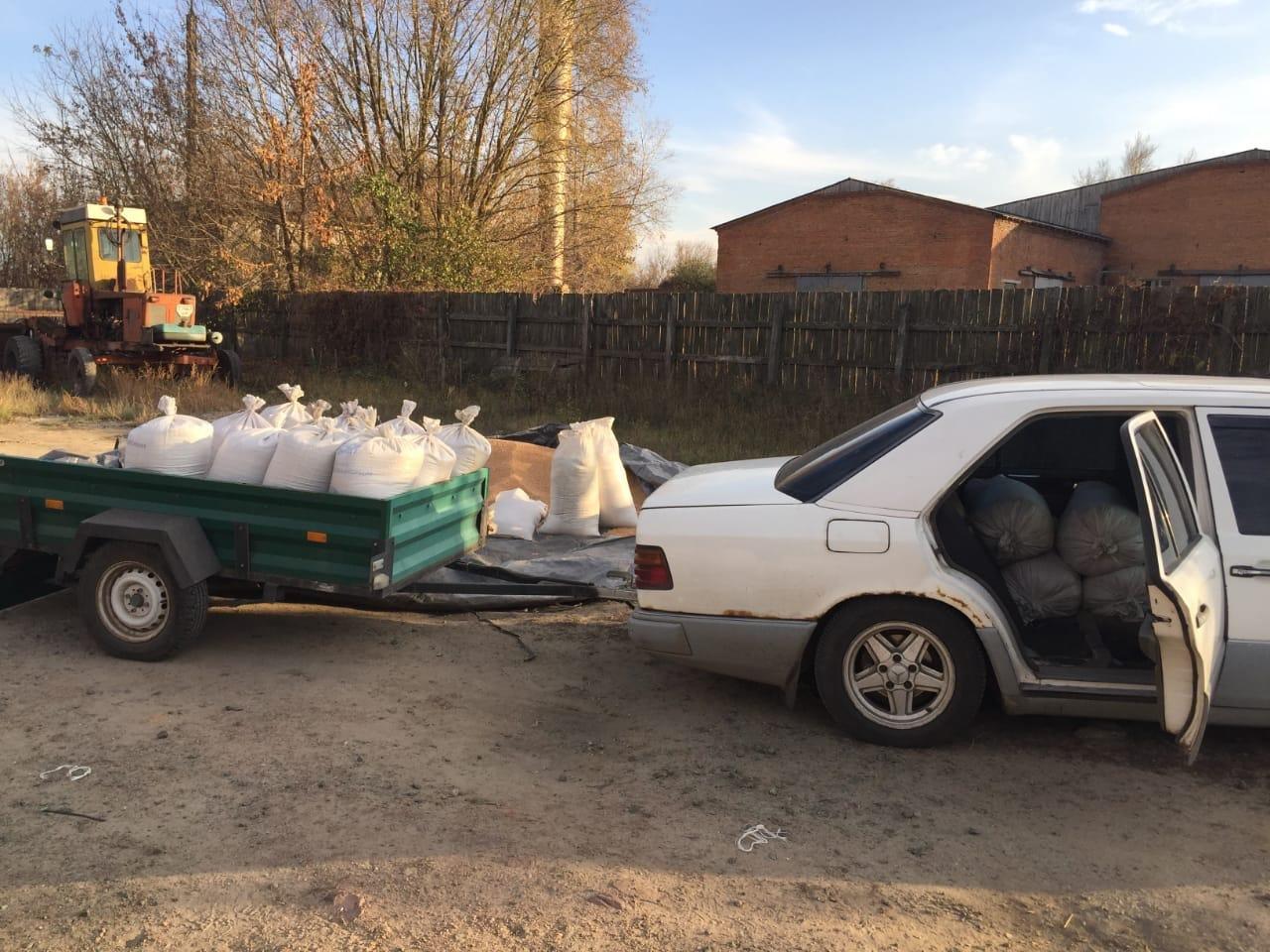 Поліція Сумщини викрила водія, який вкрав 10 тонн зерна, фото-3