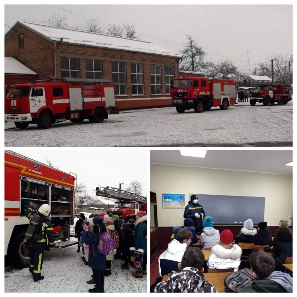 У конотопській школі влаштували тактико-пожежні навчання+ФОТО, фото-1
