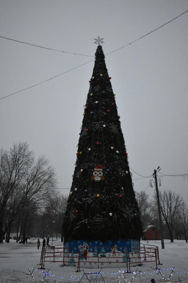 На Миколая у Конотопі відкрили головну ялинку міста, фото-7