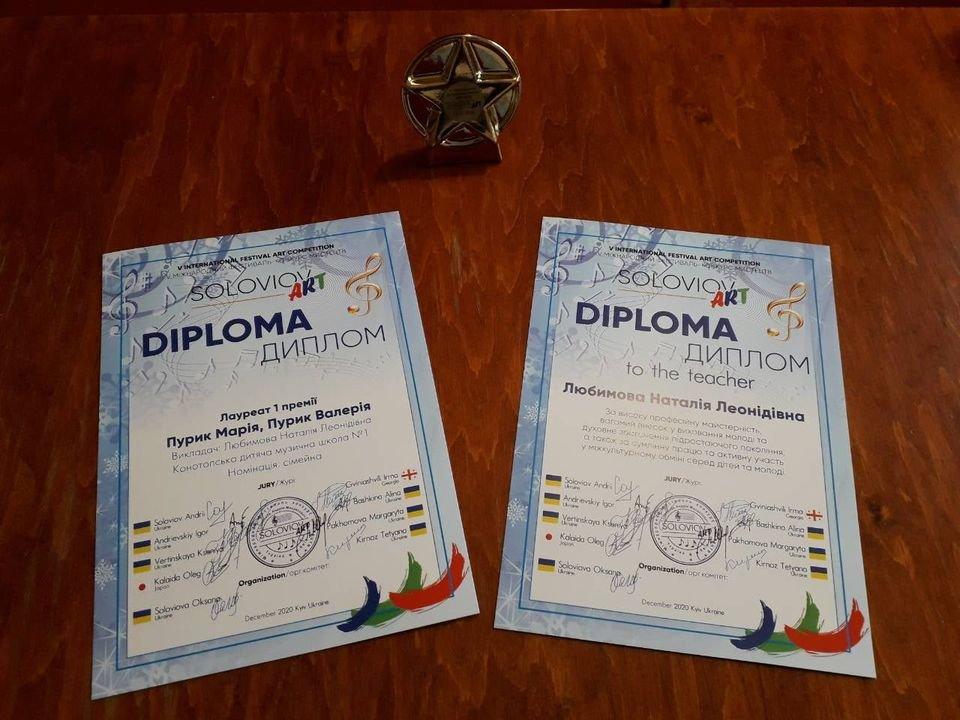 Піаністки-близнючки із Конотопа – переможці міжнародного фестивалю, фото-1