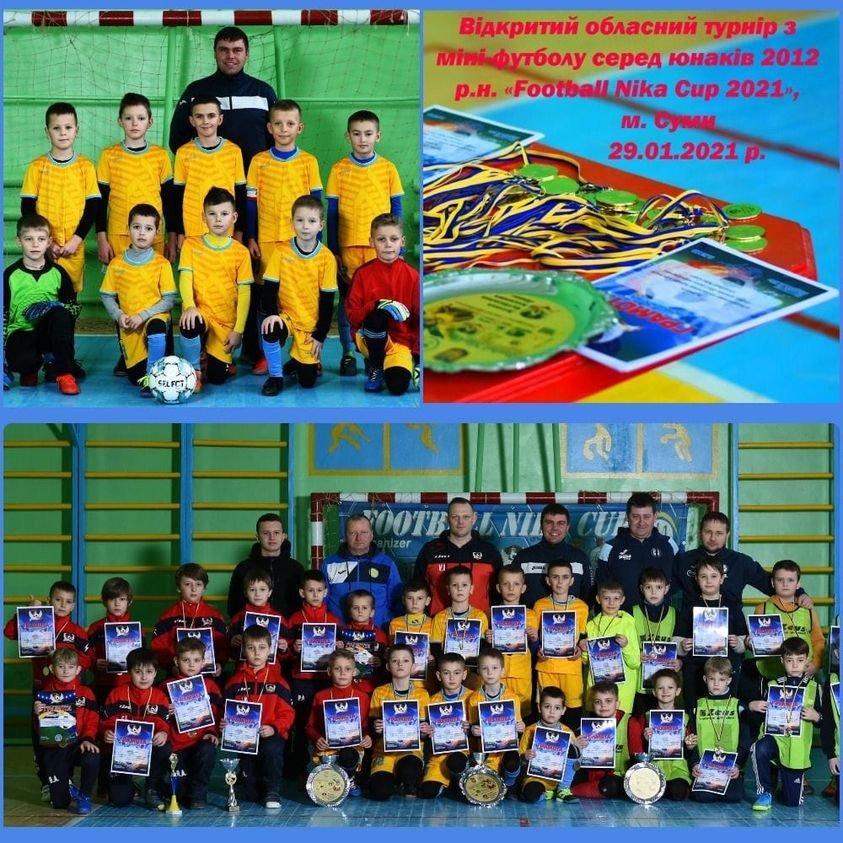 Юні конотопські спортсмени перемогли на турнірі Сумщини з міні-футболу, фото-1
