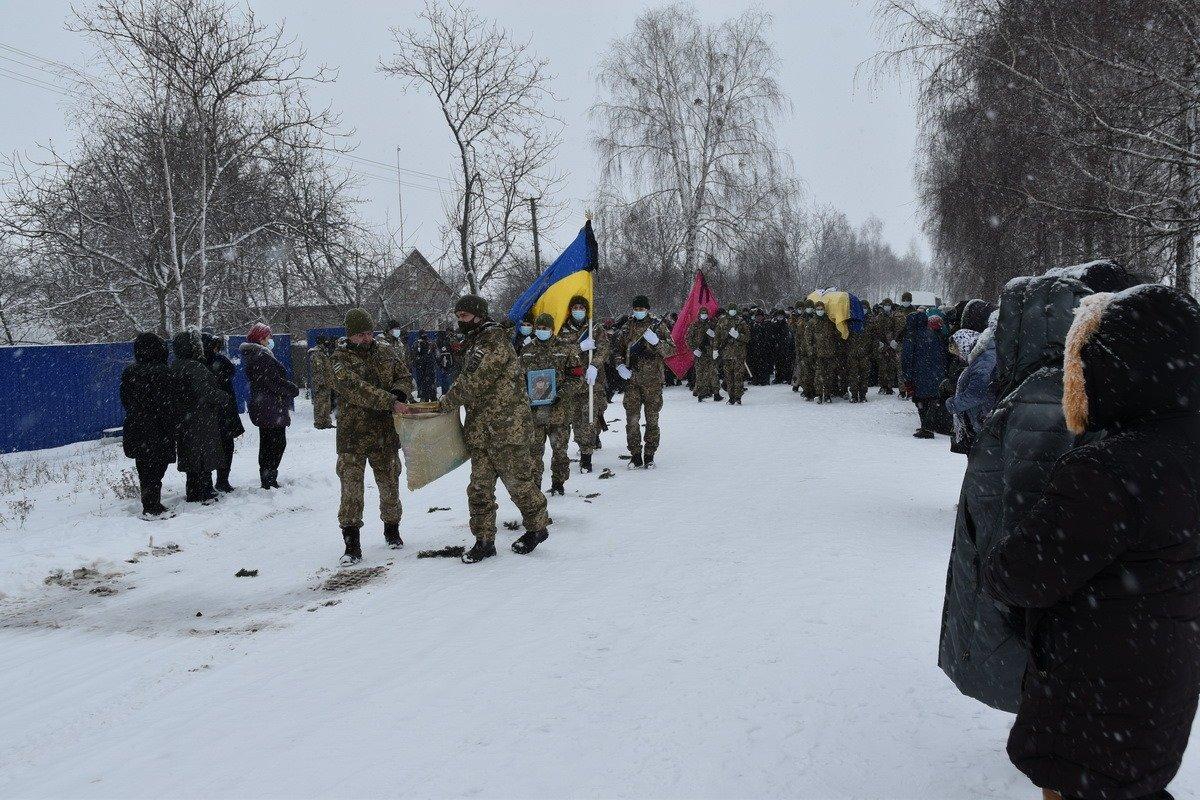 На Сумщині попрощалися з військовослужбовцем 58 ОМПБр ім. гетьмана І. Виговського , фото-7