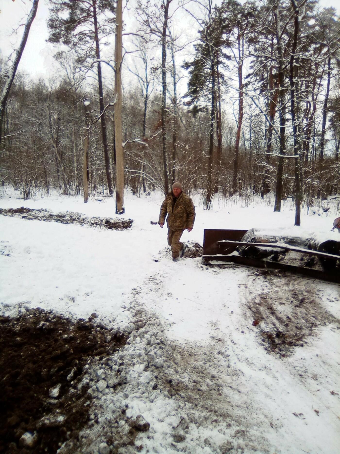 Конотопські лісівники підгодовують взимку диких тварин+ФОТО, фото-4