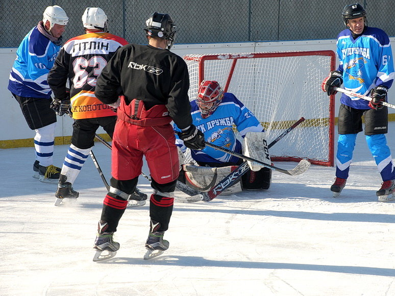 Конотопські хокеїсти перемогли команду з Ямпільщини, фото-1