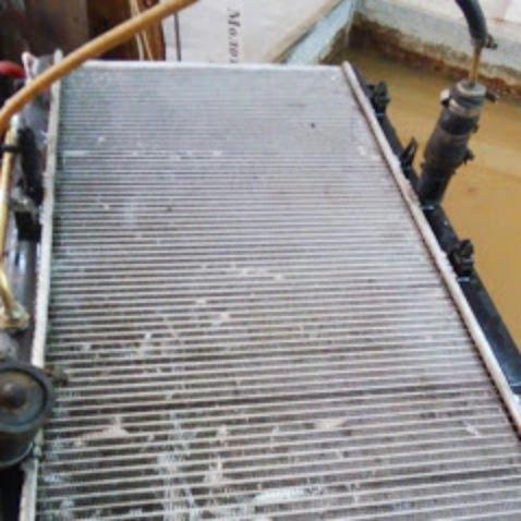 Пайка радиаторов охлаждения